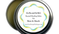 Sacred Healing Salve for Bone & Muscle