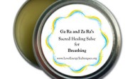 Sacred Healing Salve for Breathing