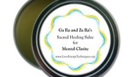 Sacred Healing Salve for Mental Clarity