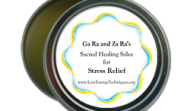 Sacred Healing Salve for Stress Relief